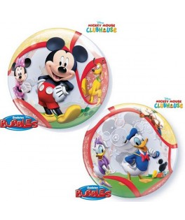 Ballon single Bubble Mickey Mouse & ses amis Disney