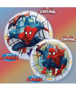 Ballon single Bubble Ultimate Spiderman