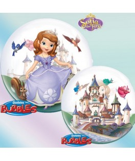 Ballon single Bubble princesse Sofia The First Disney