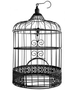 cage mariage metal noire