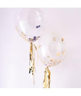 ballons confettis or meri meri