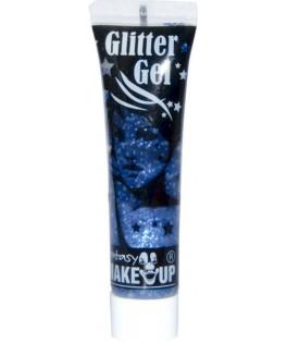 Gel pailleté bleu  pour la peau 15ml