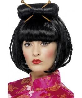 perruque femme noire asiatique