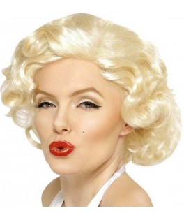 Perruque Marylin de luxe
