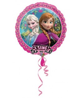 ballon chanteur la reine des neiges