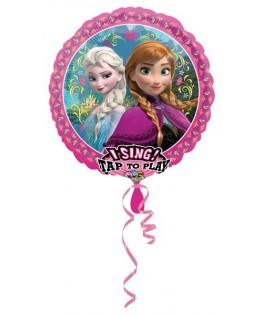 ballon chanteur la reine des neiges