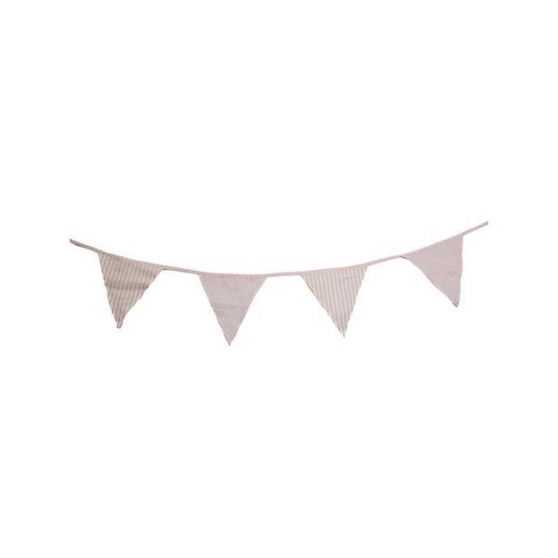 guirlandes fanions rose blanc happy fiesta lyon. Black Bedroom Furniture Sets. Home Design Ideas