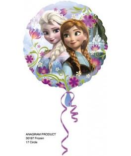 Ballon alu La Reine des Neiges Anna & Elsa  45 cm