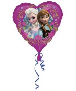 ballon coeur la reine des neiges