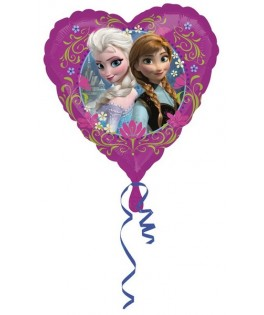 ballon coeur anniversaire la reine des neiges