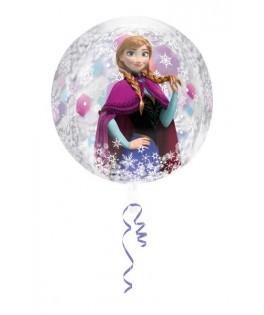 ballon anniversaire la reine des neiges