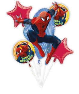 bouquet de ballons spiderman
