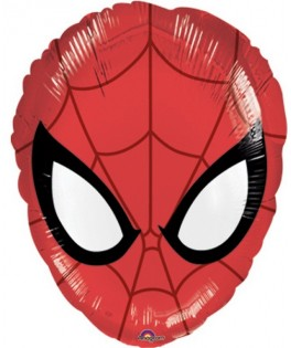ballon tête spiderman