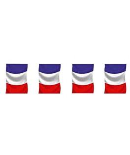 Guirlande de supporter drapeau de France 5 mètres