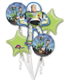 bouquet ballons anniversaire toy story