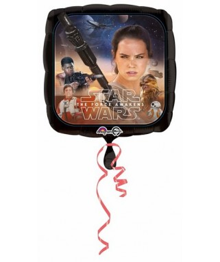 Ballon alu Cubez Star Wars The Force Awakens (18'' - 45 cm )