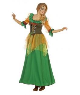 deguisement fee automne robin des bois Femme