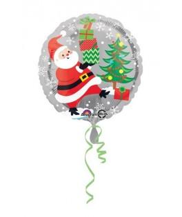 Ballon Père Noël & Pingouins