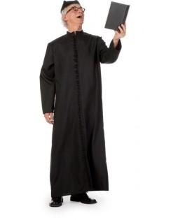 deguisement religieux curé noir