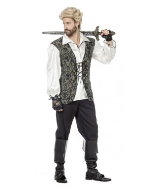 D guisement pirate homme happy fiesta lyon - Maquillage pirate homme ...