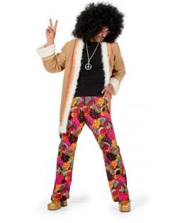 deguisement manteau hippie homme