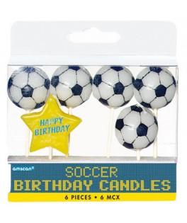 bougies anniversaire football