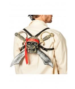Set Pirate aux 2 épées et tête de mort