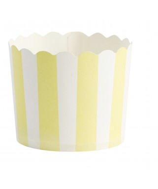 caissettes cupcake jaune
