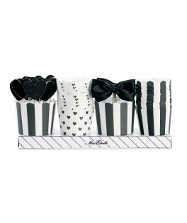 kit decoratif cupcakes noir