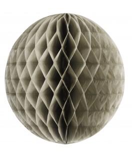 Boule alvéolée  45 cm gris