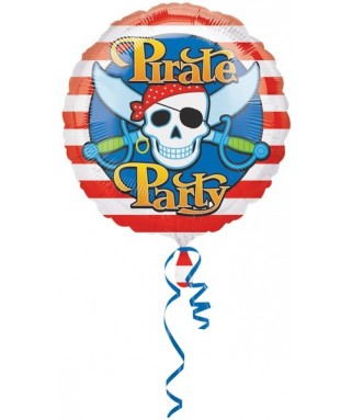 Ballon anniversaire Pirate Party