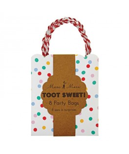 sacs cadeaux confetti toot sweet meri meri en papier