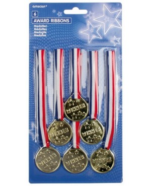 Médailles  x6