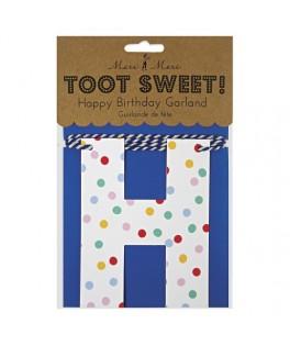 guirlande confettis enfant toot sweet meri meri