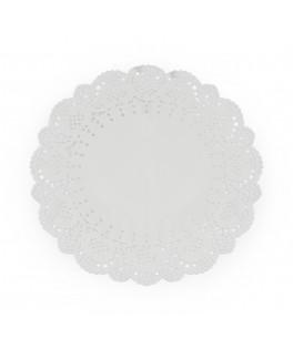 napperons dentelle de papier blanche