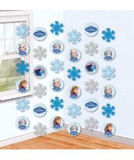 rideau decoratif reine des neiges