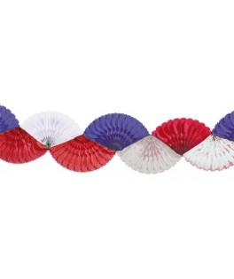 guirlande tricolore france
