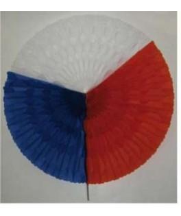 Guirlande tricolore ruban en SC nation