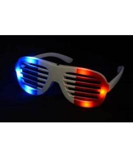 lunettes tricolore de supporter