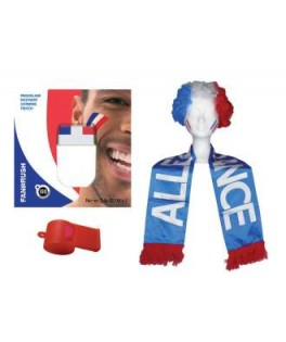kit de supporter france tricolore