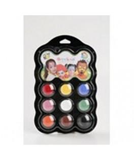 palette de maquillage enfant carnaval