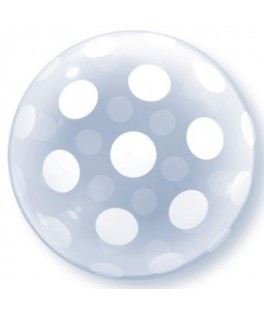 ballon deco bubble pois