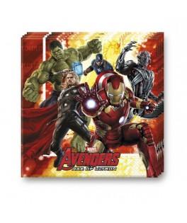 Serviettes Amazing Avengers Age of Ultron  x20