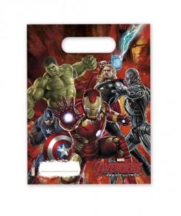 Sacs cadeaux Amazing Avengers Age of Ultron x6