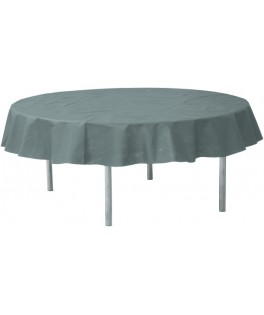 nappe ronde intisee grise