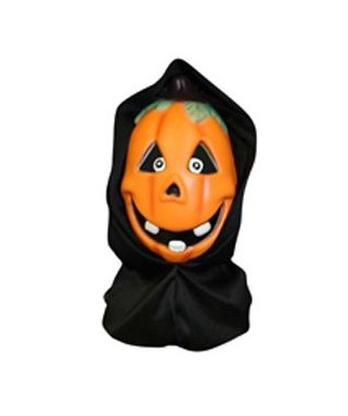 halloween masque citrouille souple avec cagoule happy fiesta lyon. Black Bedroom Furniture Sets. Home Design Ideas