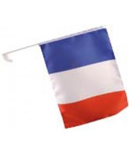 drapeau supporter francais voiture
