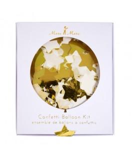ballons confettis dorés meri meri nouvel an