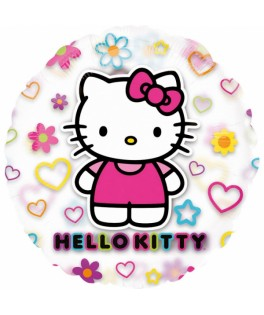 ballon transparent hello kitty