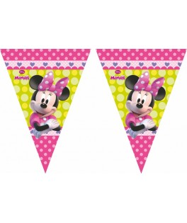 guirlande fanions minnie mouse